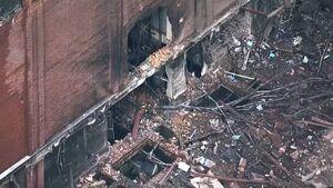 تصاویر جدید از خسارات انفجار در نشویل آمریکا