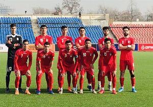 تساوی جوانان ایران و تاجیکستان در آخرین بازی