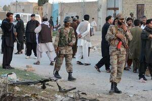 حمله تروریستی در بلوچستان پاکستان / ۷ نیروی نظامی کشته شدند