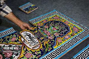 هنر کاشی هفت رنگ شیراز