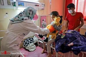 عکس/ اقدامی زیبا در بیمارستان اطفال اهواز