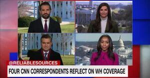 سی ان ان: حامیان ترامپ خبرنگاران را تهدید میکنند