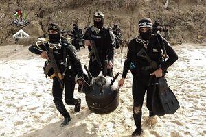 مانور گروههای مقاومت فلسطین