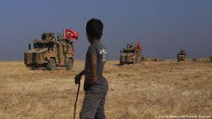 خروج نیروهای ترکیه از مناطق تحت کنترل ارتش سوریه در حومه حلب