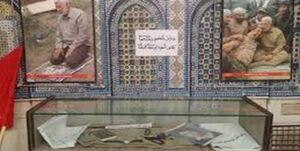 ماکت مزار «حاج قاسم» و «ابومهدی» + عکس