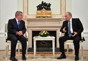 گفتگوی تلفنی بحث بر انگیز پوتین و باخ