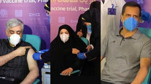 تزریق واکسن کرونای ایرانی واکسن کرونا نمایه واکسن ایرانی