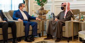 عراقچی و وزیر خارجه قطر