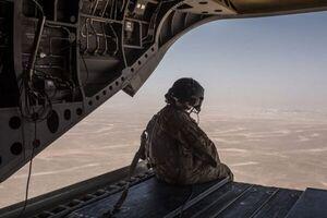 تحرکات شدید هوایی نظامیان آمریکایی در غرب عراق
