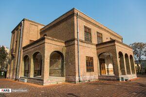 عکس/ عمارت ۱۵۰ ساله سلیمانیه تهران
