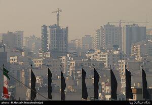 عکس/ آلودگی هوای تهران