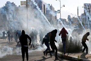یورش صهیونیستها به کرانه باختری و وقوع درگیری با فلسطینیان