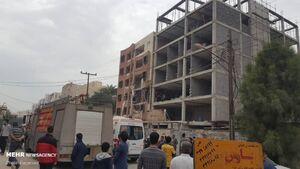 عکس/ انفجار منزل مسکونی در اهواز