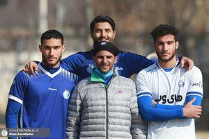 عکس/ دوقلوهای جدید فوتبال در استقلال