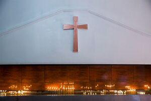 آغاز سال میلادی 2021 در کلیسای فلا