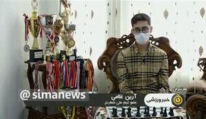 فیلم/ انگشتر مرد میدان در دست قهرمان شطرنج