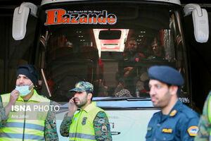 سلام کرونا به فوتبالیستها در مقابل هتل!