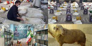 جهادیها به نیابت از «حاج قاسم» گرههای زیادی بازکردند + عکس
