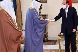 امیر کویت درنامهای به «السیسی» بر پایان دادن به بحران قطر تأکید کرد