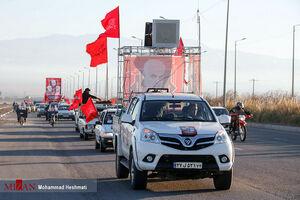 عکس/ رژه خودروها به مناسبت سالگرد شهادت سردار سلیمانی