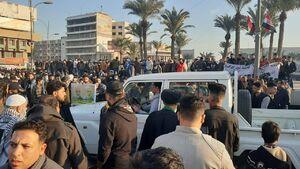 میدان التحریر عراق سلیمانی