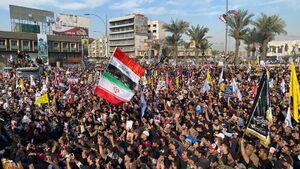 عکس/ میعادگاه دوستداران مکتب شهید سلیمانی در بغداد
