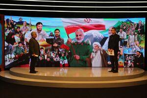 رونمایی از دیوارنگاره جشنواره عمار با پرچمداری حاج قاسم