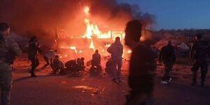 تروریستها در حمله به یک اتوبوس در سوریه ۶ غیرنظامی را کشتند