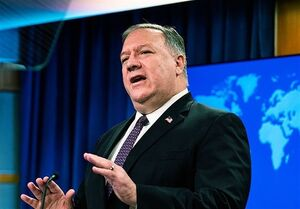 پامپئو: ۳۶۵ هدف در روسیه مورد تحریم آمریکا قرار گرفتهاند