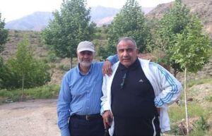 عکس منتشر نشده از سردار شهید سلیمانی و عادل عبدالمهدی