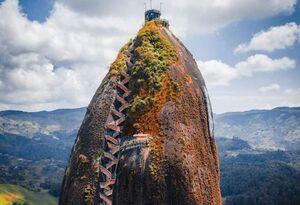 ساختمانی عجیب در کلمبیا