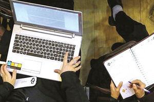 بالاخره کلاسهای آنلاین مفید واقع شد! +فیلم