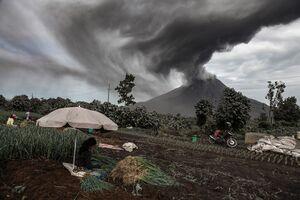 فعالیت آتشفشانها در سال