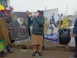 مراسم سالگرد شهادت سپهبد سلیمانی در کشمیر