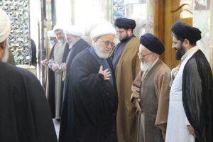 مجلس یادبود آیت الله مصباح یزدی در نجف اشرف برگزار شد