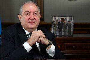 رئیس جمهور ارمنستان در «انگلیس» به کرونا مبتلا شد