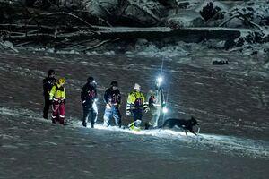 جستجو برای یافتن ناپدیدشدگان رانش زمین در نروژ