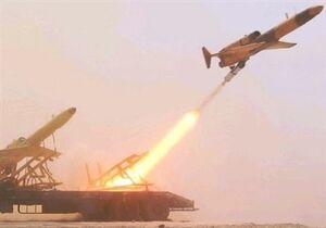 شلیک موشک آذرخش از پهپاد کرار