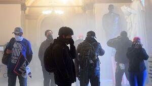 فیلم/ خبرنگار ABC: من نه در بغداد حضور دارم و نه در کابل، اینجا پایتخت آمریکاست!
