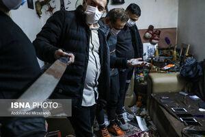 انهدام باند توزیع مواد مخدر در محله یافت آباد
