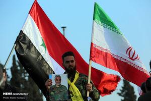 مراسم بزرگداشت سرداران مقاومت در شهر حما