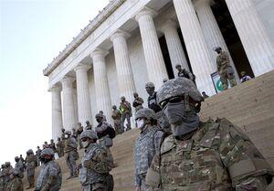 پنتاگون ۶۲۰۰ نیروی گارد ملی آمریکا را به حالت آمادهباش در آورد