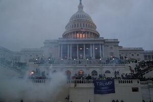 حمله معترضان به کنگره آمریکا