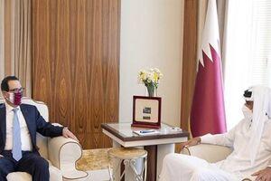 گفتوگوی وزیر خرانهداری آمریکا با امیر قطر