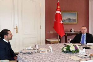 سعد الحریری با اردوغان دیدار کرد - کراپشده