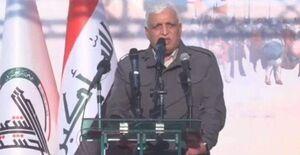 الفیاض: پاسخ ترور شهیدان سلیمانی و المهندس خروج آمریکا از عراق است