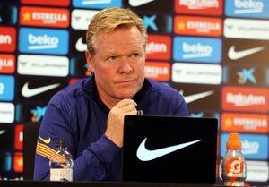 کومان: بارسلونا به بازیکنان جدید نیاز دارد/ از مسی انتظار ندارم در هر بازی ۳ گل بزند
