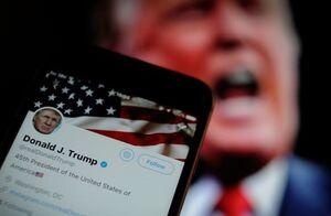 توییتر ترامپ برای همیشه تعلیق شد