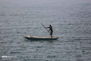 عکس/ صید ماهی در نوار غزه