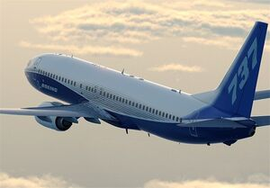 فیلم/ آتش گرفتن موتور هواپیمای مسافربری آمریکایی